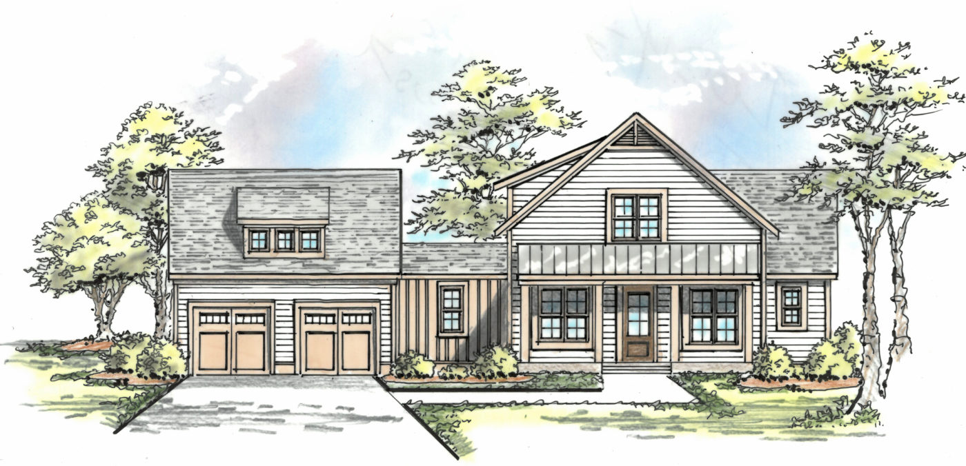 The Homestead Collection at Anderson Farms - The Charleston - Exterior Option 2