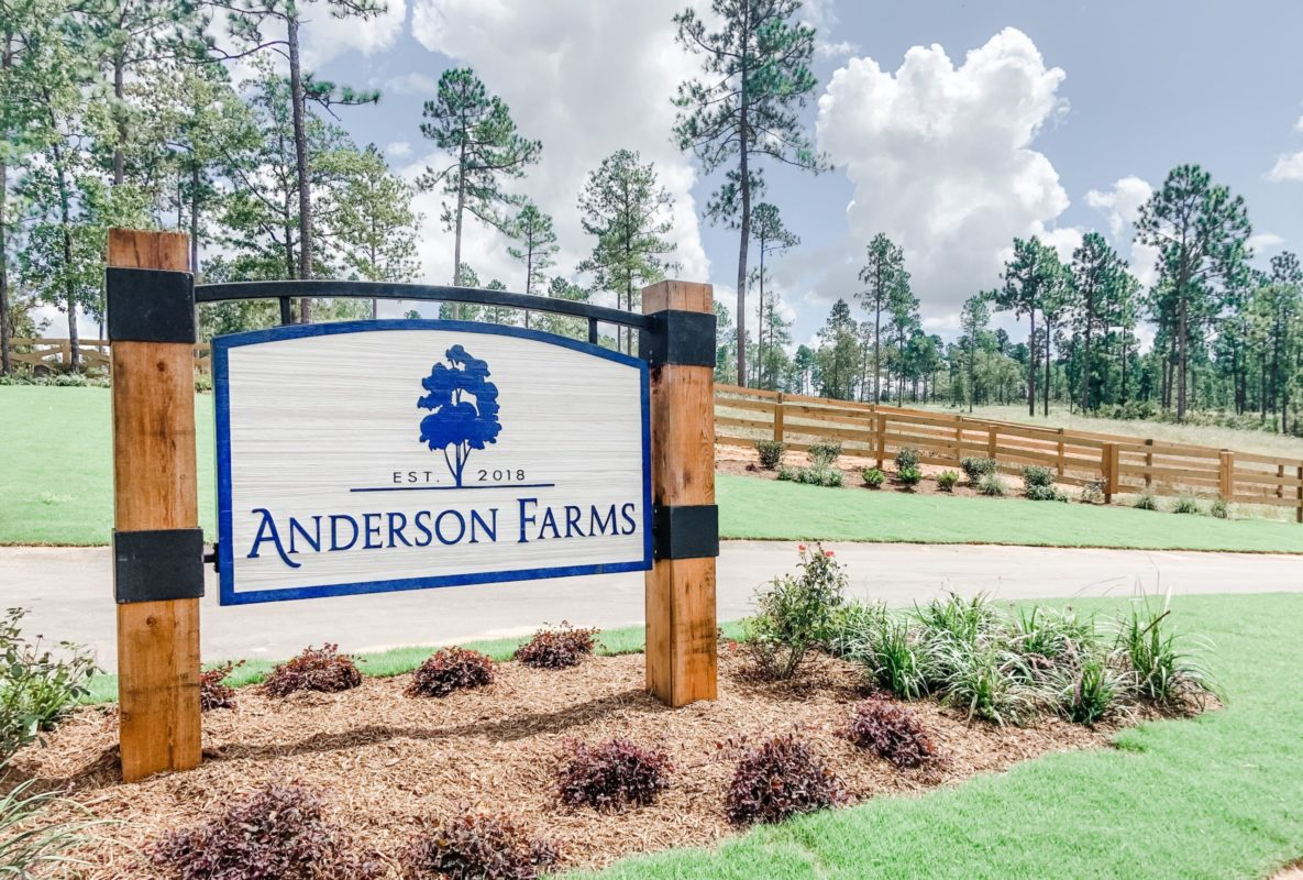 Anderson Farms in Aiken, SC | A New Home Community